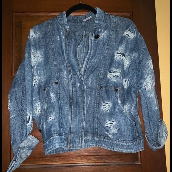 Free People Jackets & Blazers - Free People bomber jacket